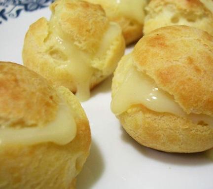 Bignè-al-formaggio